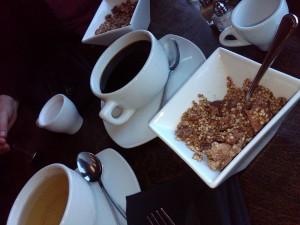 Five Course Sunday Brunch- Buckwheat Granola