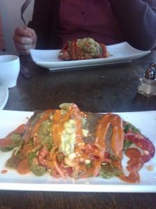 Five Course Sunday Brunch-Enchilada
